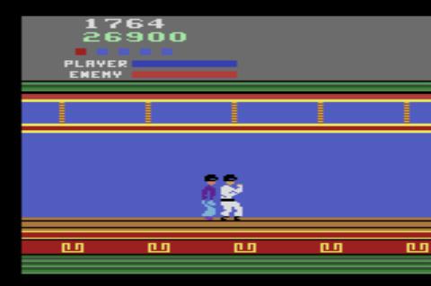 GAMES: Kung Fu Master (Atari 2600 Novice/B) 26,900 points on 2019-12-28 21:33:23