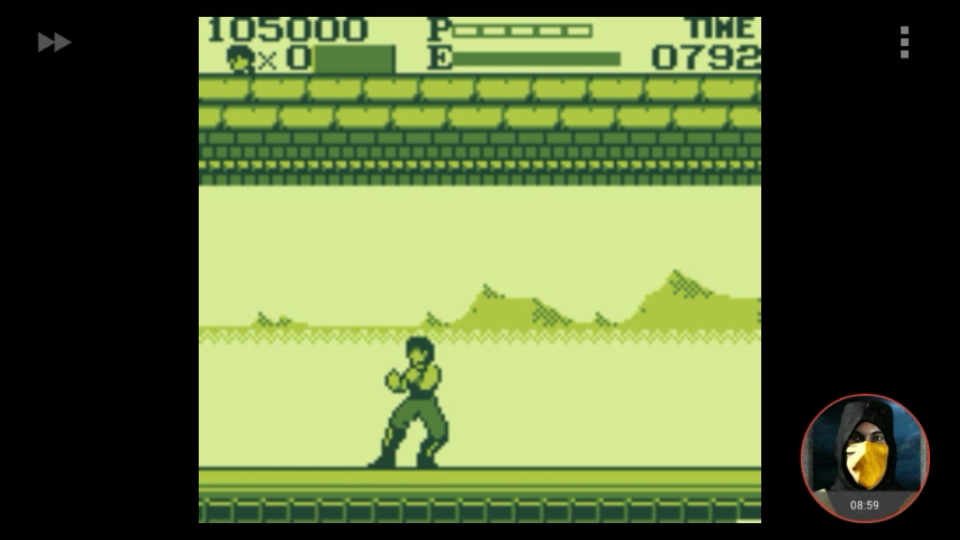 omargeddon: Kung Fu Master (Game Boy Emulated) 105,000 points on 2018-03-25 20:45:28