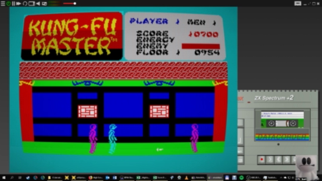 GTibel: Kung Fu Master (ZX Spectrum Emulated) 10,700 points on 2019-01-18 06:15:13