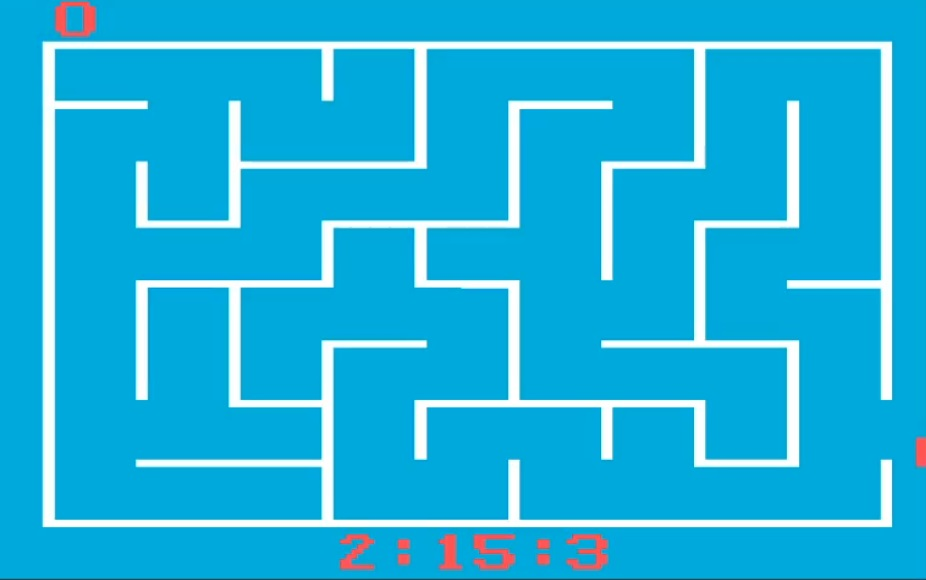 Labyrinth Game: Game Variation 0 time of 0:02:15.3