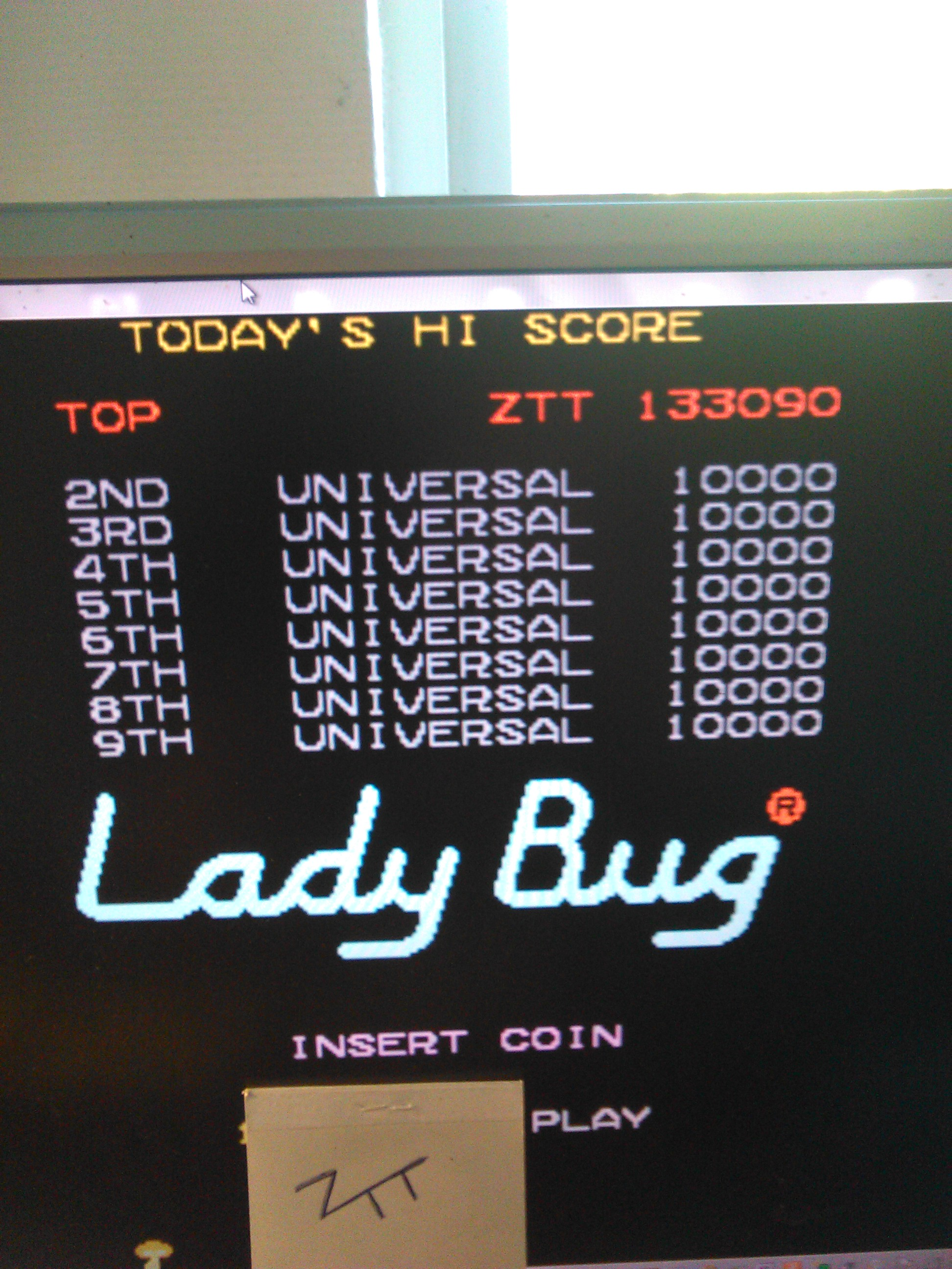 Lady Bug 133,090 points