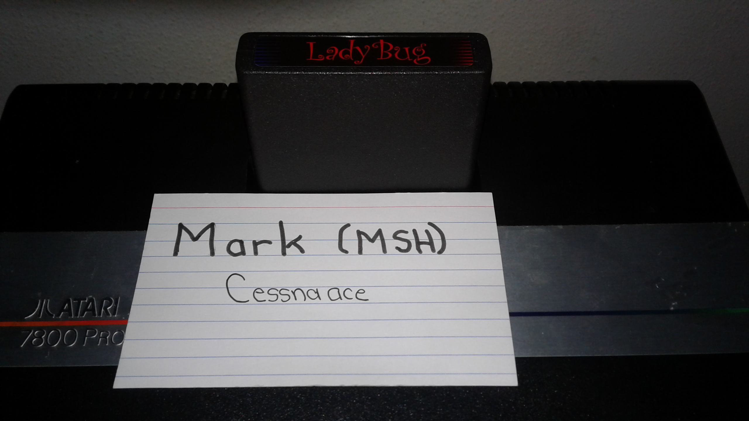 Mark: Lady Bug: Novice (Atari 2600 Novice/B) 20,060 points on 2019-06-03 02:10:06