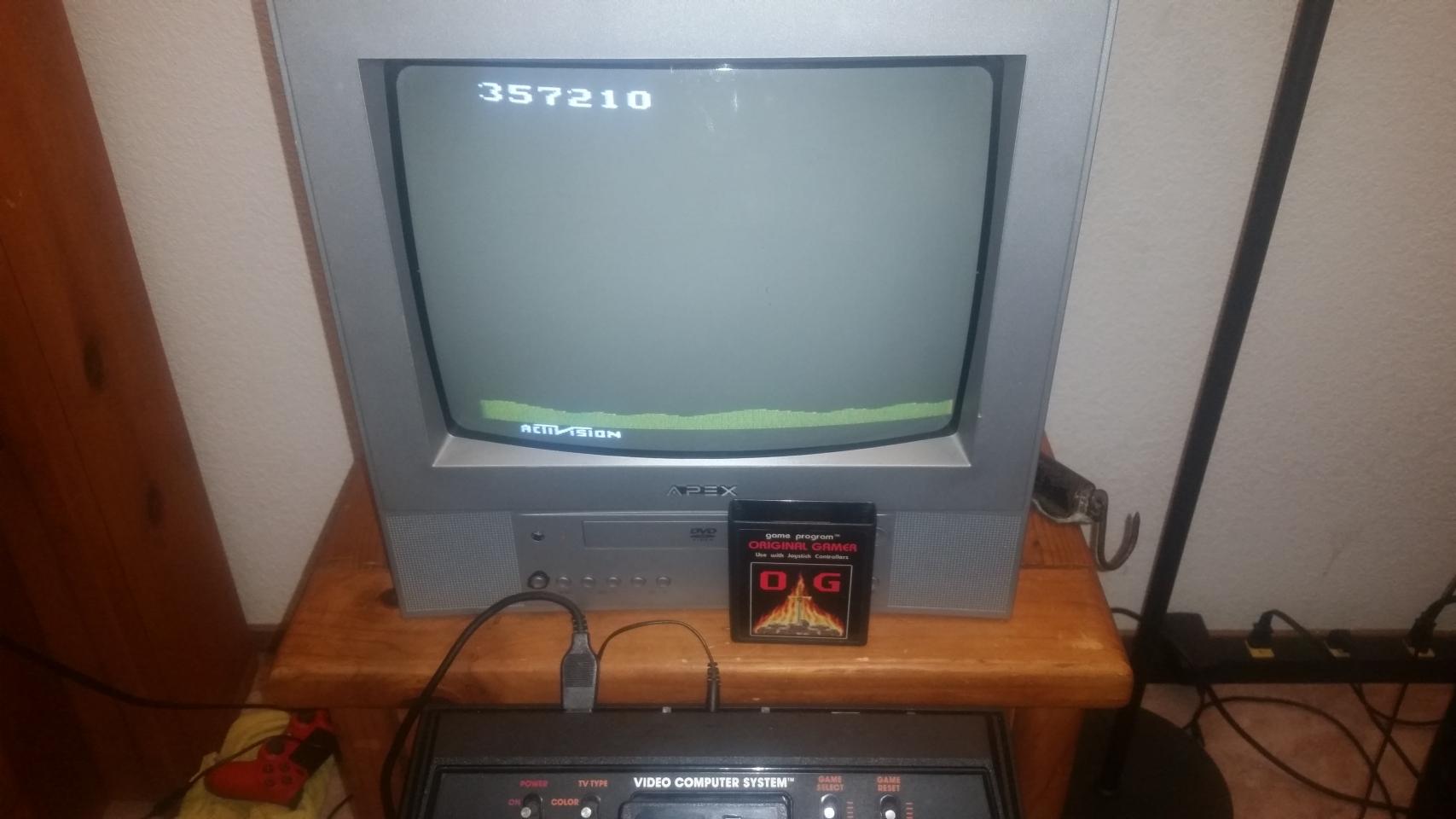 OriginalGamer: Laser Blast (Atari 2600 Novice/B) 357,210 points on 2018-01-07 04:01:26