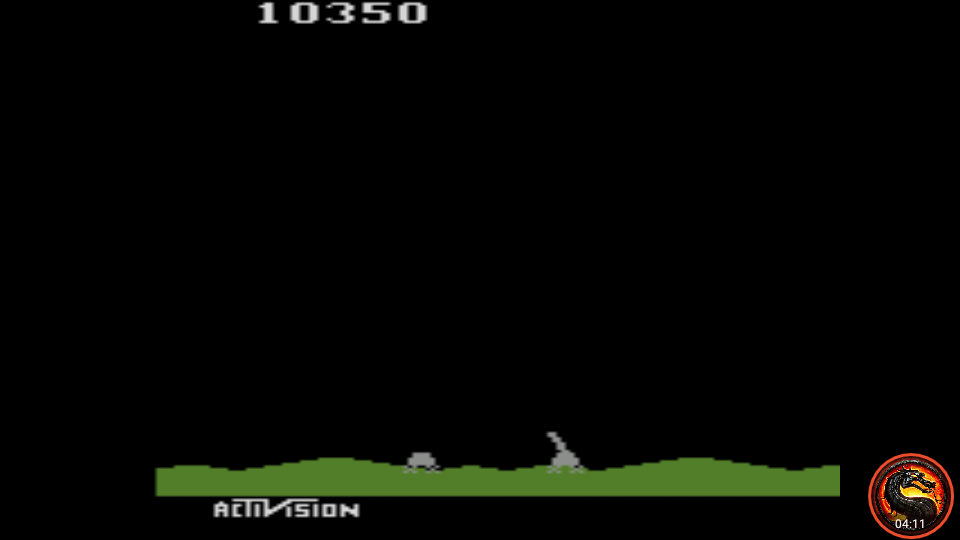 omargeddon: Laser Blast	 (Atari 2600 Emulated Expert/A Mode) 10,350 points on 2020-05-30 23:41:58