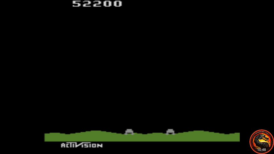 omargeddon: Laser Blast: Game 2 (Atari 2600 Emulated Expert/A Mode) 52,200 points on 2020-05-30 23:56:54