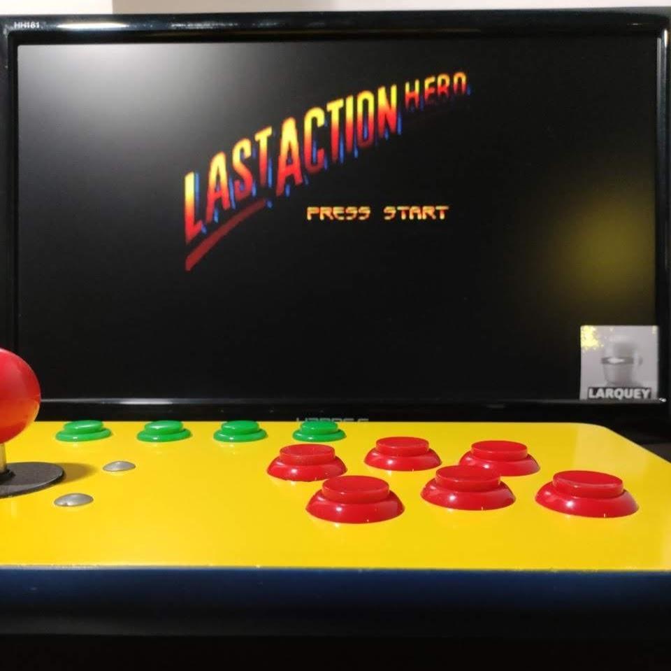 Larquey: Last Action Hero (Sega Genesis / MegaDrive Emulated) 7,650 points on 2021-08-28 10:09:26