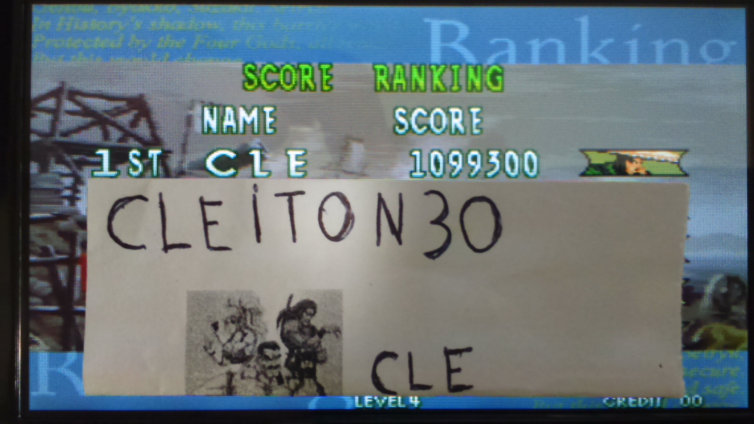 Cleiton30: Last Blade 2 (Neo Geo Emulated) 1,099,300 points on 2016-05-20 15:01:59