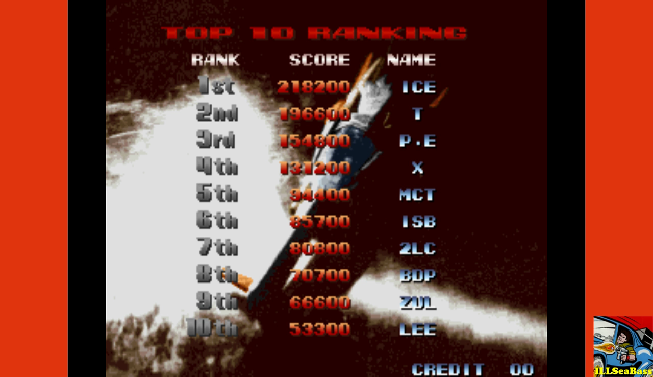 ILLSeaBass: Last Resort (Arcade Emulated / M.A.M.E.) 85,700 points on 2016-12-08 22:03:25