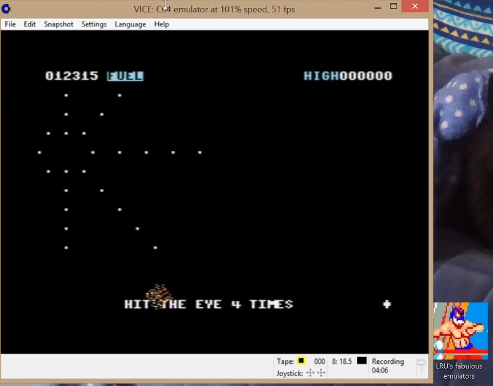 LuigiRuffolo: Lazarian (Commodore 64 Emulated) 12,315 points on 2020-07-24 10:55:36