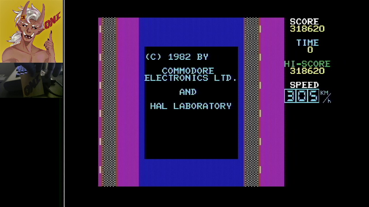 OniDensetsu: Le Mans (Commodore 64) 318,620 points on 2021-02-09 02:33:21