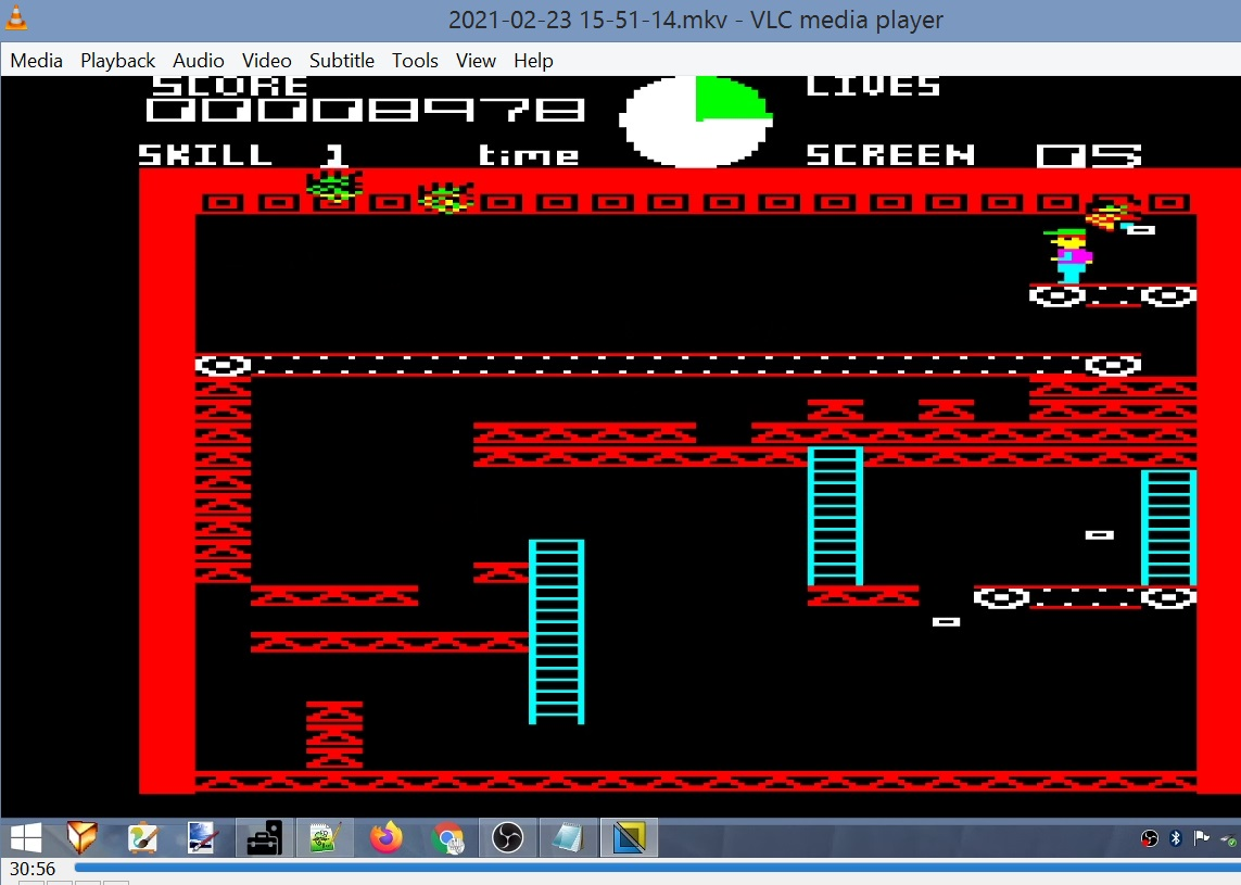 LuigiRuffolo: Ledge Man (BBC Micro Emulated) 8,978 points on 2021-02-23 10:05:53