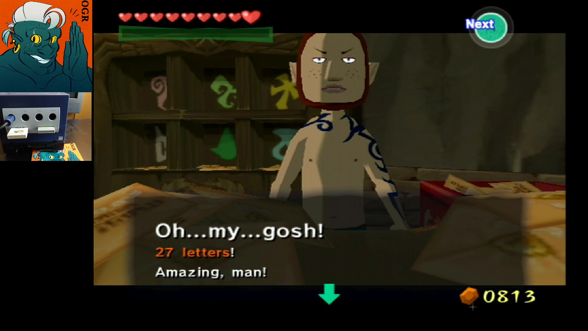 AwesomeOgre: Legend of Zelda: Wind Waker [Letter