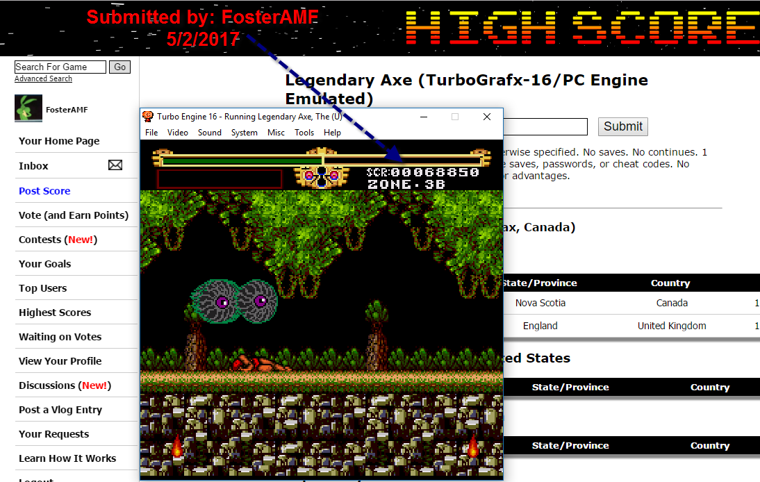 FosterAMF: Legendary Axe (TurboGrafx-16/PC Engine Emulated) 68,850 points on 2017-05-02 13:52:42