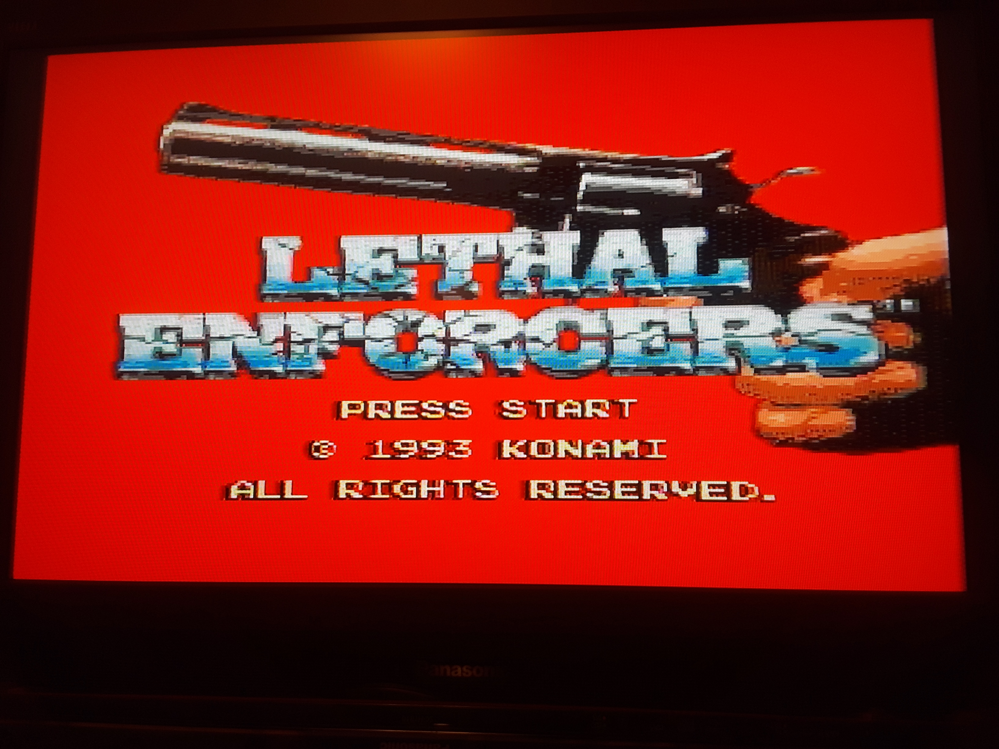 Lethal Enforcers [Easy] 4,185 points