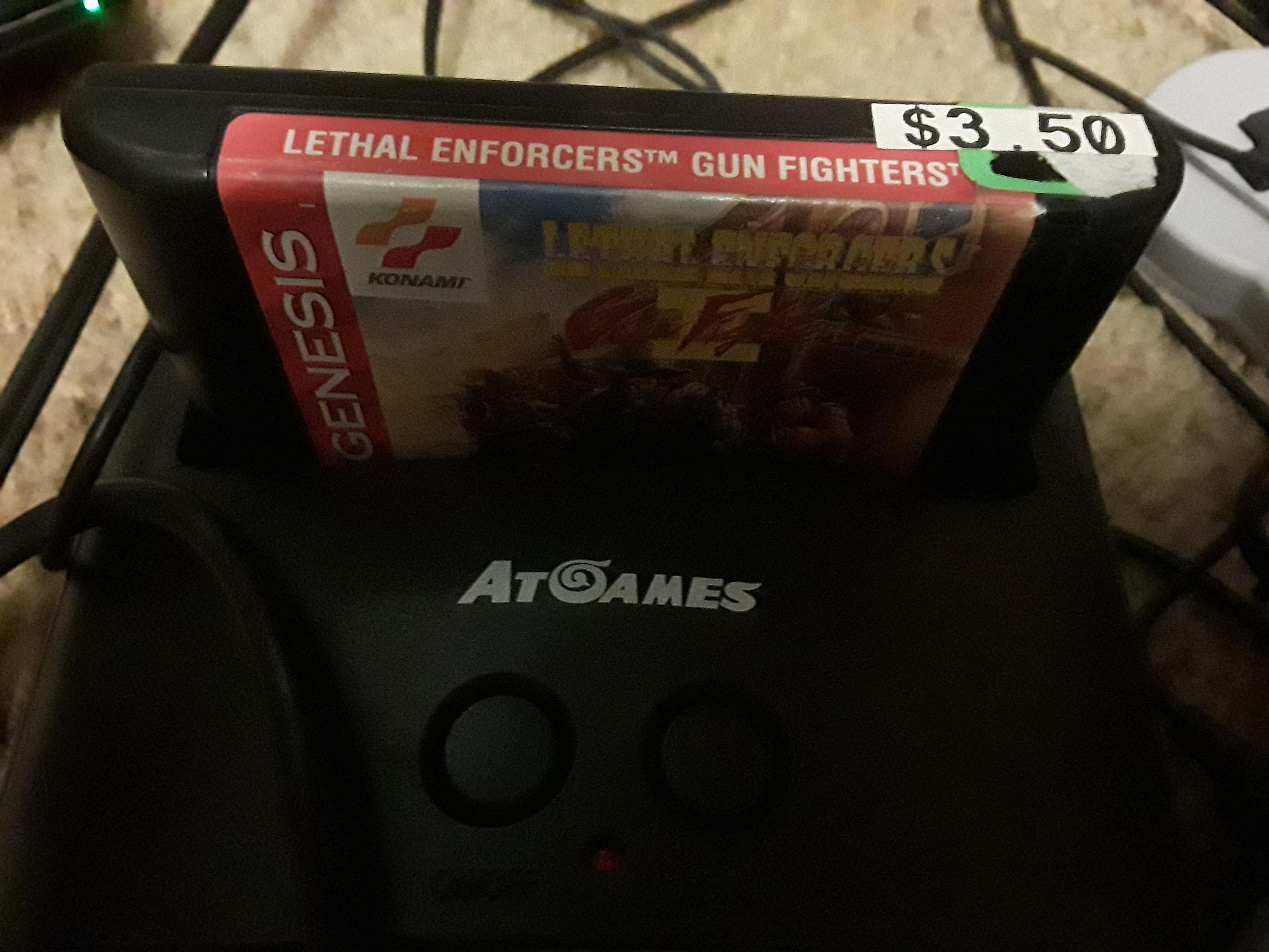 JML101582: Lethal Enforcers II: Gun Fighters [Easy] (Sega Genesis / MegaDrive Emulated) 936 points on 2019-02-23 19:59:17