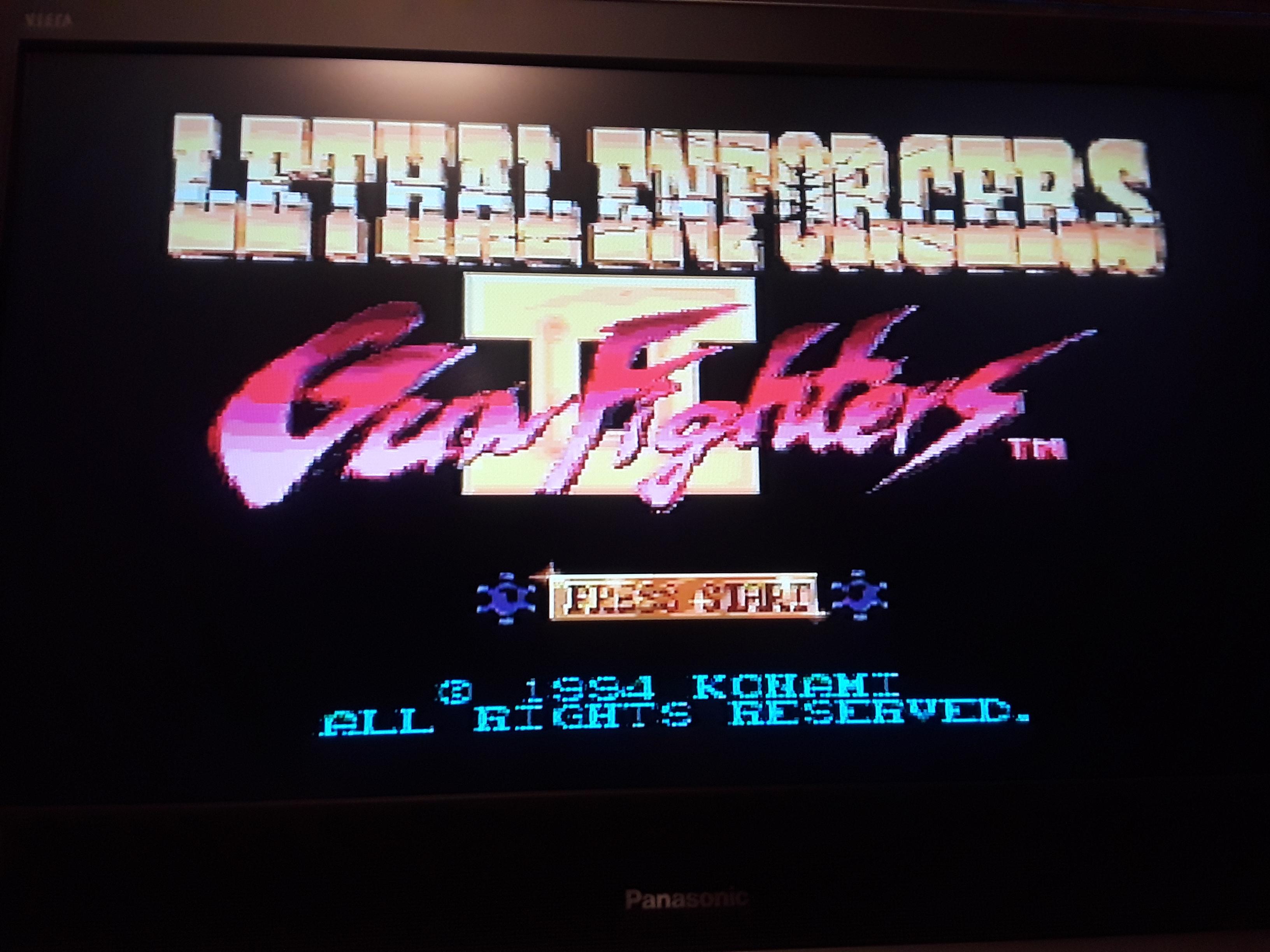 Lethal Enforcers II: Gun Fighters [Super Hard] 128 points