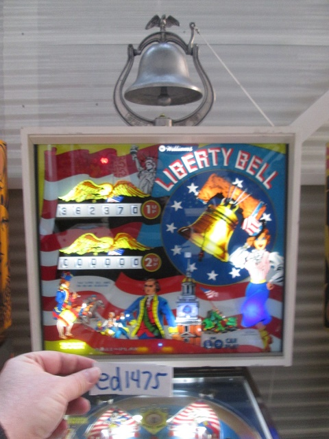 ed1475: Liberty Bell (Pinball: 3 Balls) 362,370 points on 2017-01-22 16:13:12