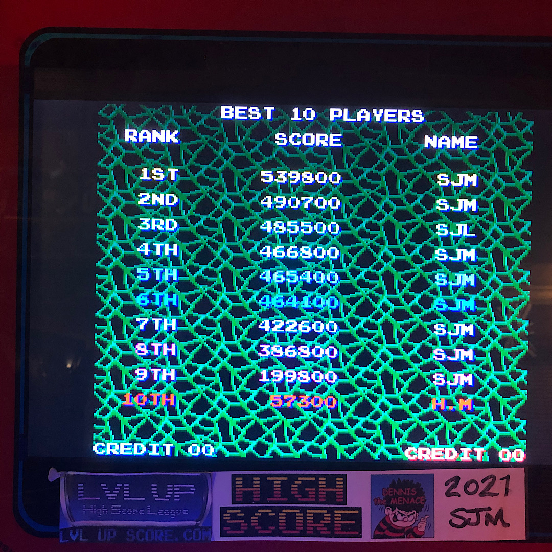 DtM2000: Life Force (Arcade Emulated / M.A.M.E.) 539,800 points on 2021-09-21 15:37:10