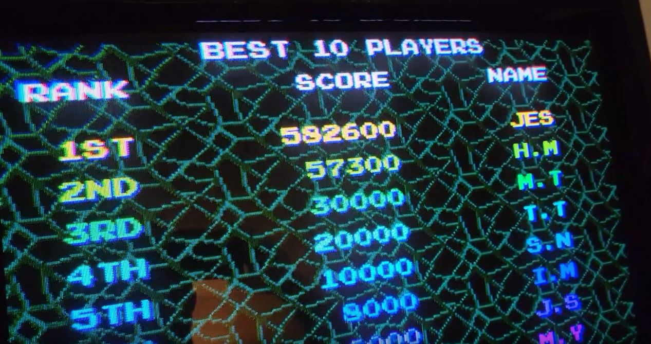 JES: Life Force (Arcade Emulated / M.A.M.E.) 582,600 points on 2021-09-28 01:19:44