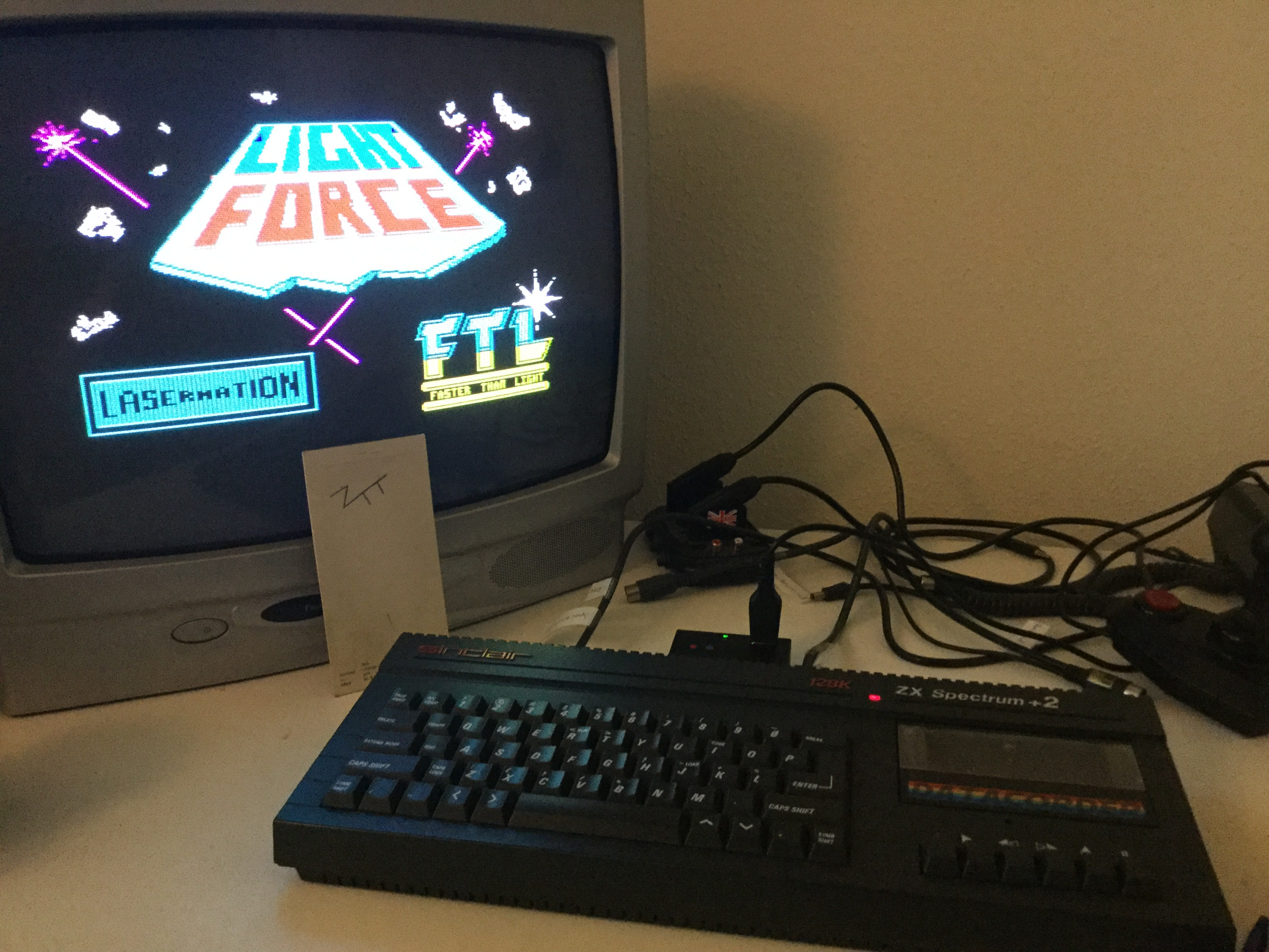 Frankie: Lightforce (ZX Spectrum) 64,250 points on 2019-06-15 04:25:08