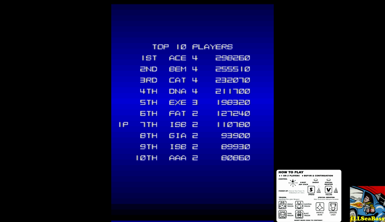 ILLSeaBass: Lightning Fighters [lgtnfght] (Arcade Emulated / M.A.M.E.) 110,780 points on 2016-11-19 22:08:04