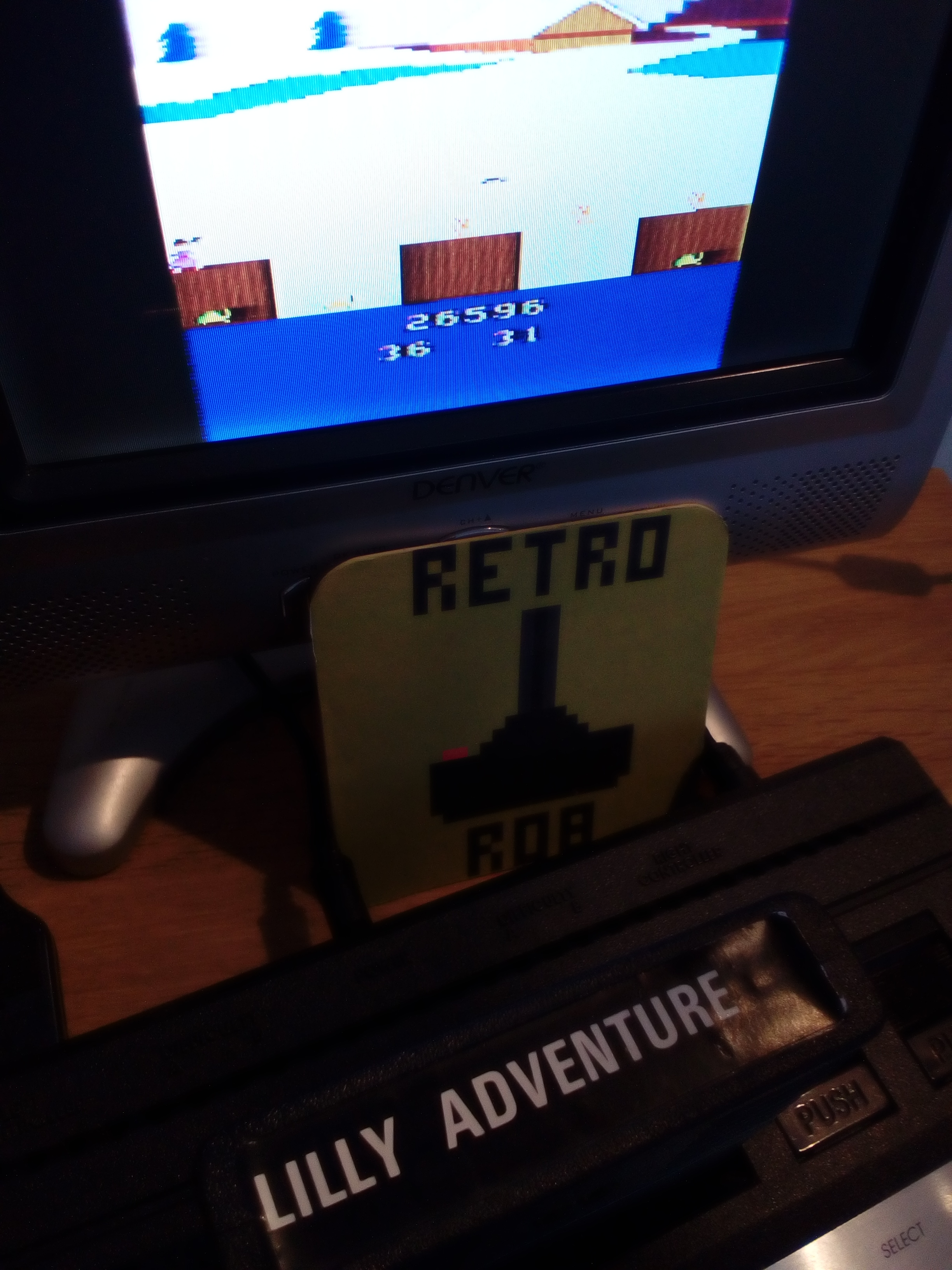 RetroRob: Lilly Adventure (Atari 2600 Novice/B) 26,596 points on 2019-03-13 07:41:12