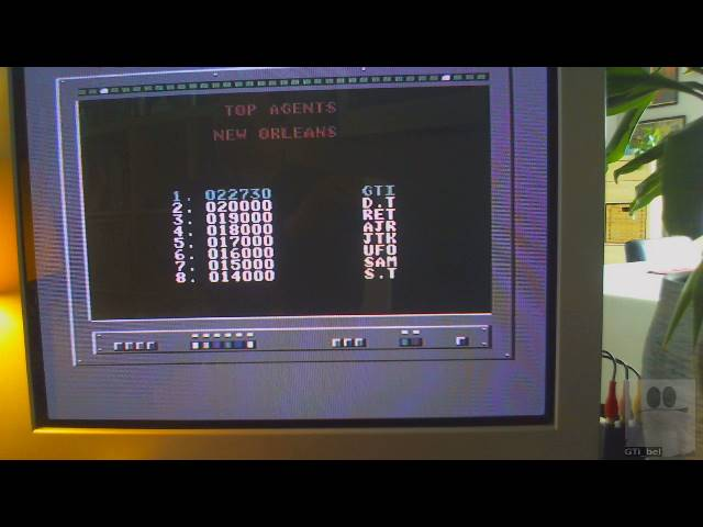 GTibel: Live and Let Die [New Orleans] (Commodore 64) 22,730 points on 2019-05-18 02:44:02