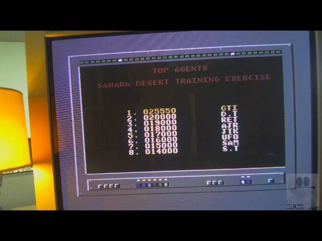 GTibel: Live and Let Die [Shara Training Exercise] (Commodore 64) 25,550 points on 2019-05-18 02:46:54