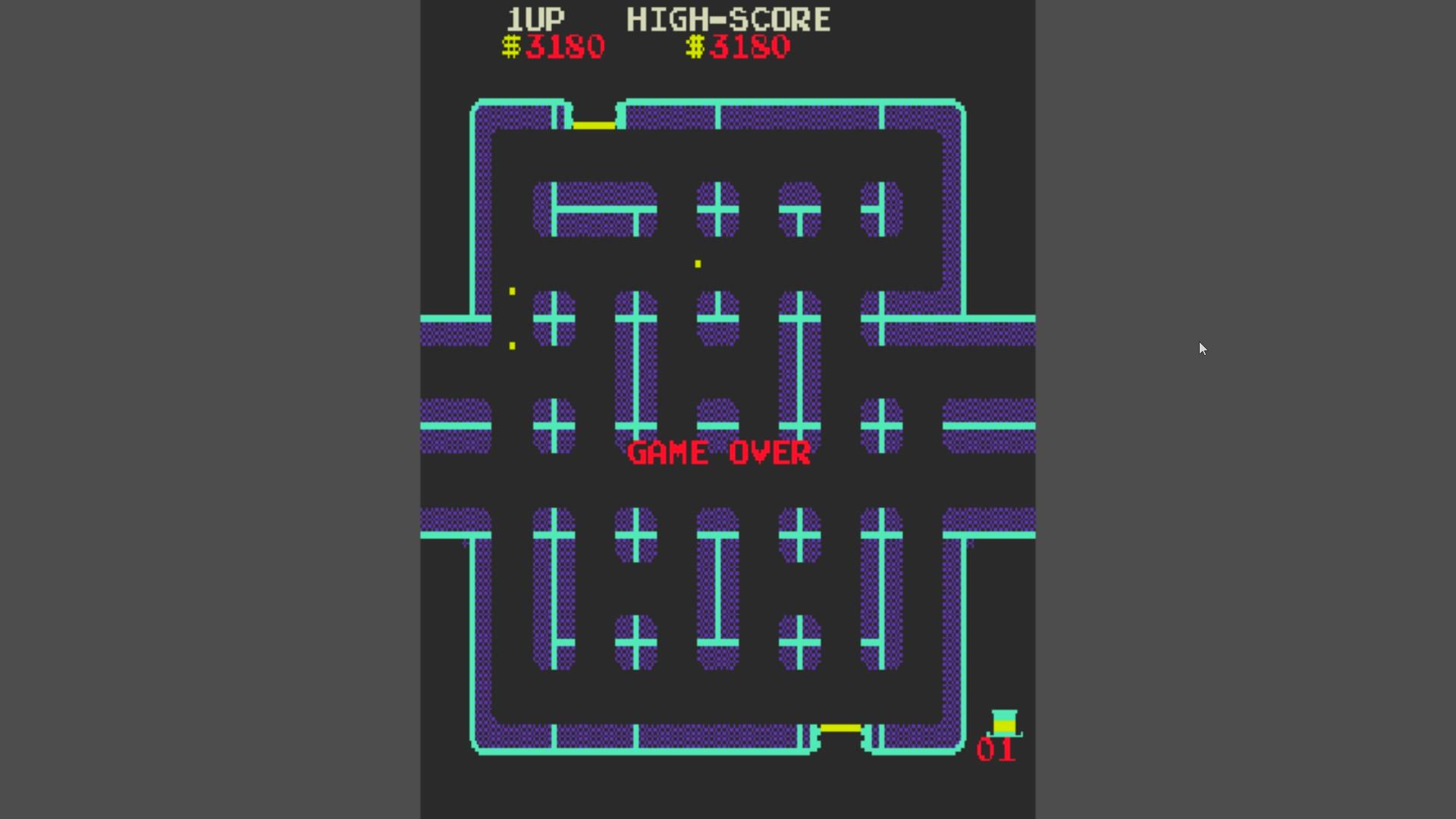 AkinNahtanoj: Lock N Chase (Arcade Emulated / M.A.M.E.) 3,180 points on 2020-10-21 06:32:03