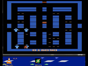 S.BAZ: Lock N Chase (Atari 2600 Emulated Novice/B Mode) 16,090 points on 2020-08-26 19:17:14