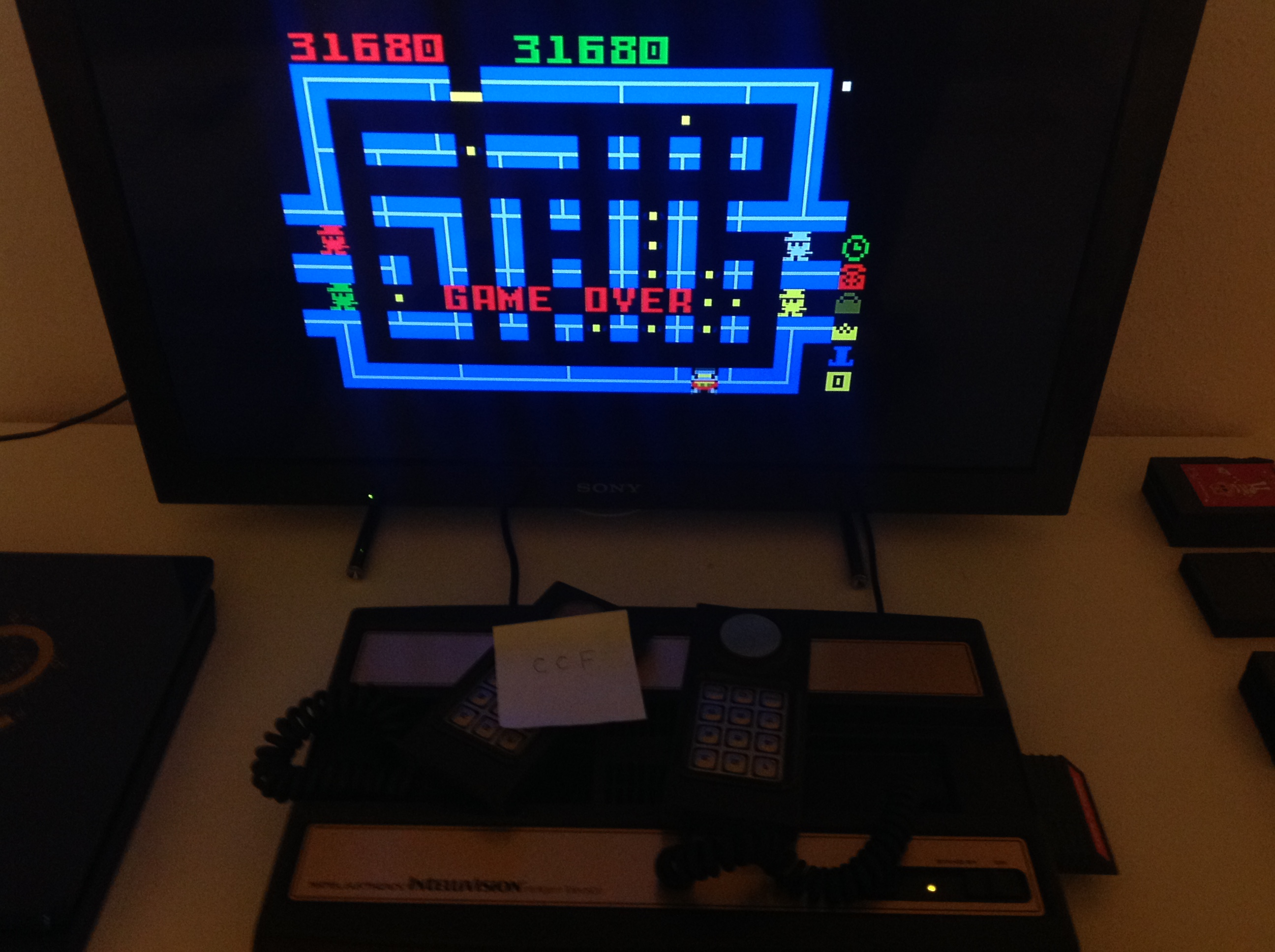 CoCoForest: Lock N Chase: Skill Disc (Intellivision) 31,680 points on 2018-08-13 13:20:38