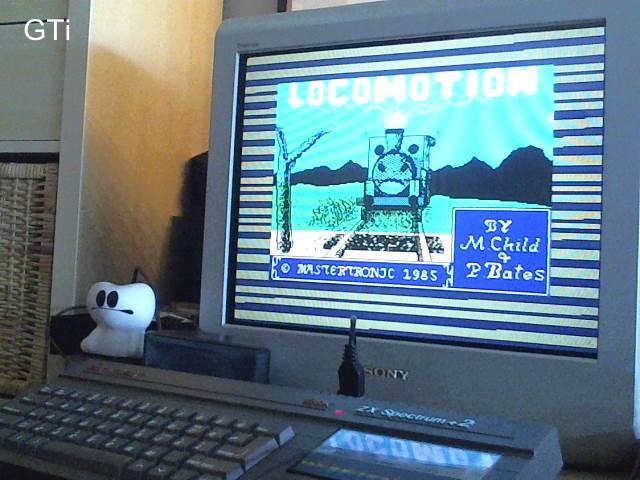 GTibel: Locomotion (ZX Spectrum) 331 points on 2017-06-05 07:49:34