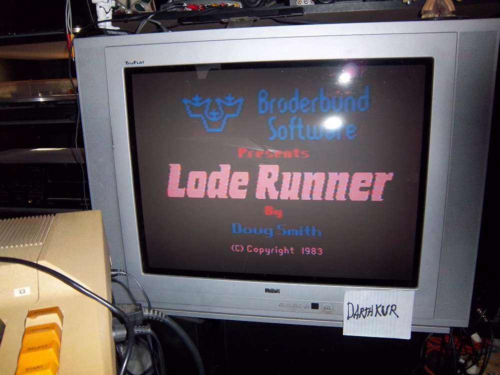 Lode Runner 169,525 points