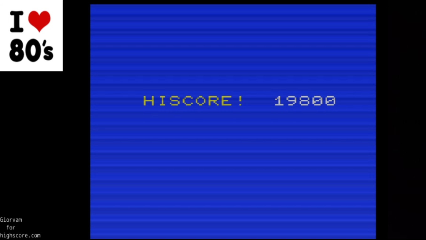Giorvam: Lode Runner (Commodore VIC-20 Emulated) 19,800 points on 2020-02-15 07:10:35