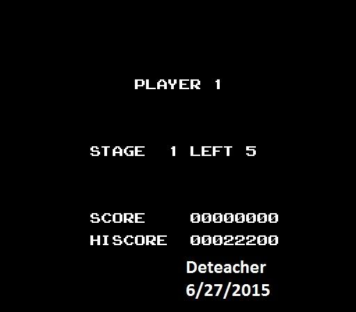 Deteacher: Lode Runner (NES/Famicom Emulated) 22,200 points on 2015-06-27 19:51:43