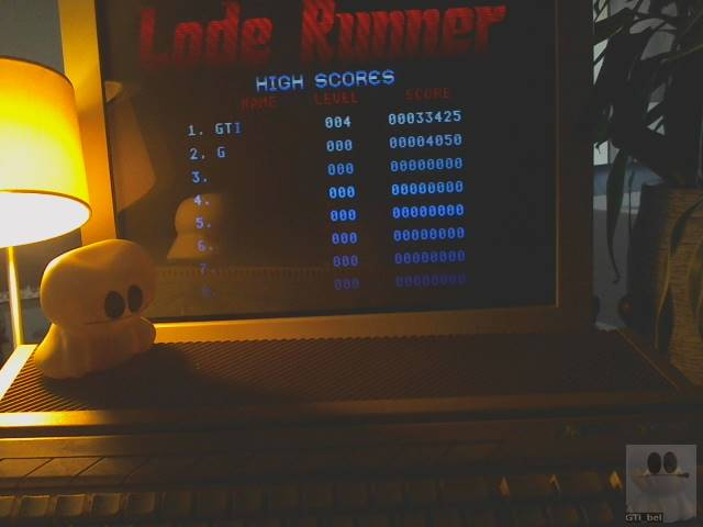 Lode Runner [Normal] 33,425 points