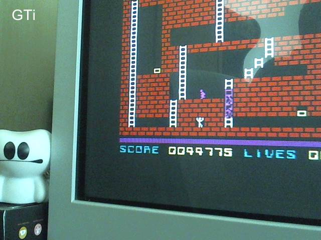 Lode Runner 44,775 points