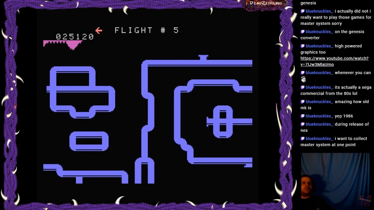 DeadZergling: Looping: Skill 3 (Colecovision Emulated) 25,120 points on 2020-04-03 06:44:05