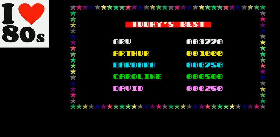 Giorvam: Lost In My Spectrum (ZX Spectrum Emulated) 3,770 points on 2018-01-22 03:04:39