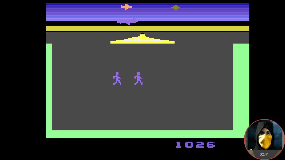 omargeddon: Lost Luggage (Atari 2600 Emulated Novice/B Mode) 1,026 points on 2018-02-25 15:29:46