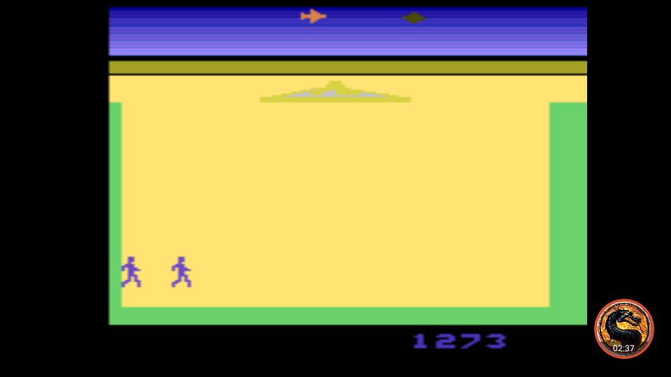 omargeddon: Lost Luggage (Atari 2600 Emulated Novice/B Mode) 1,273 points on 2019-10-21 22:32:50