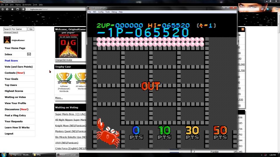 OriginalGamer: Lot Lot (NES/Famicom Emulated) 65,520 points on 2016-09-05 01:40:11