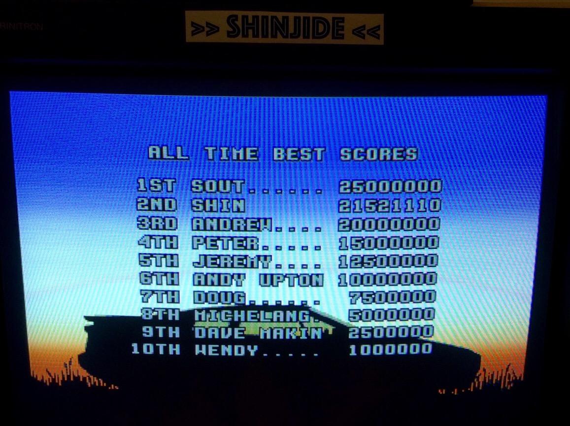 Lotus Turbo Challenge 2 21,521,110 points