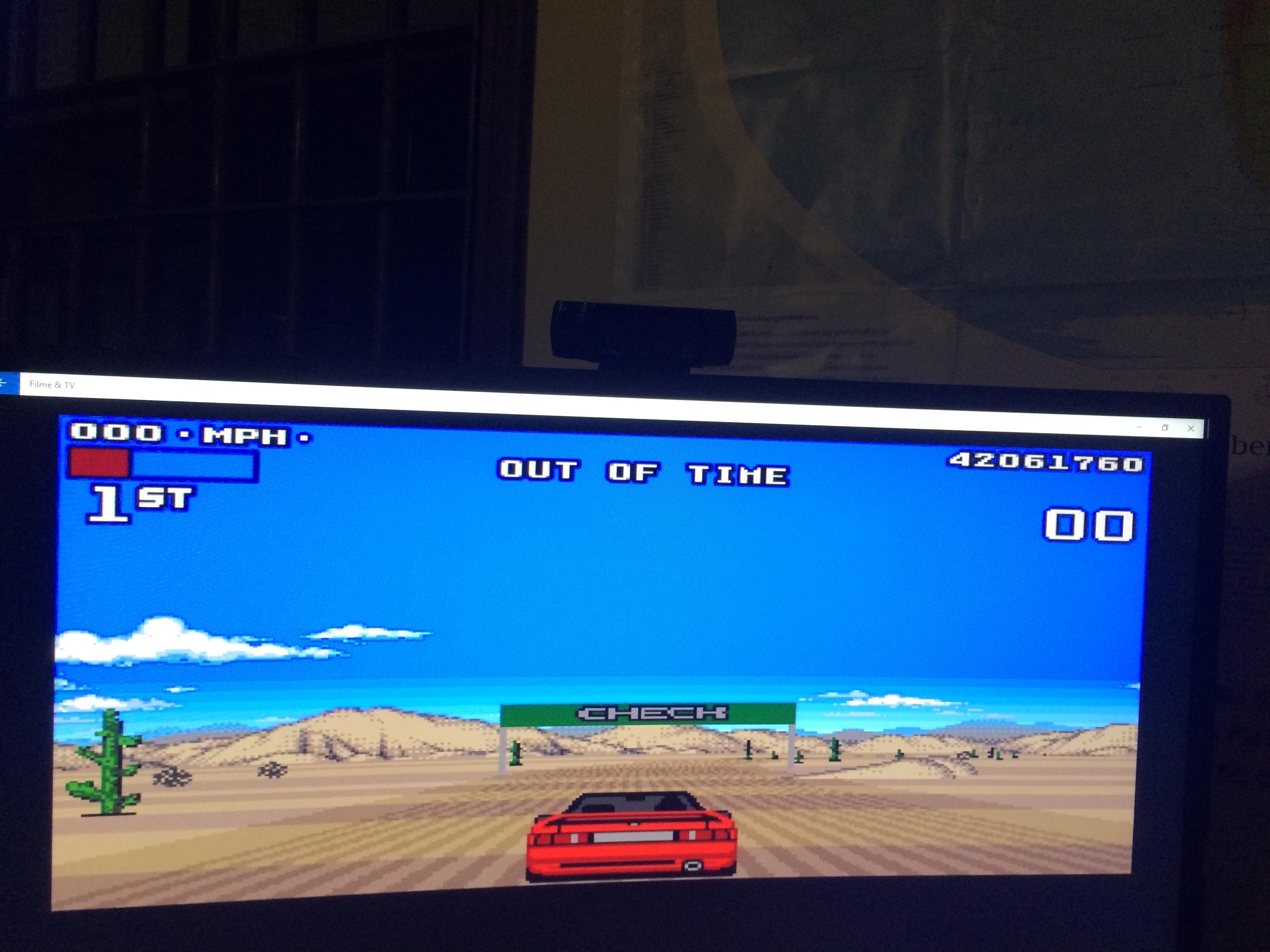 Lotus Turbo Challenge 2 42,061,760 points