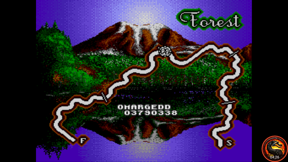 omargeddon: Lotus Turbo Challenge (Sega Genesis / MegaDrive Emulated) 3,790,338 points on 2020-10-17 18:50:34