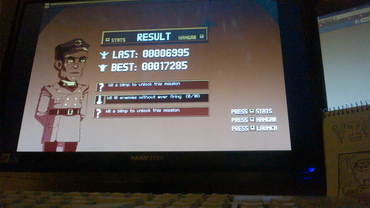 Luftrausers 6,995 points