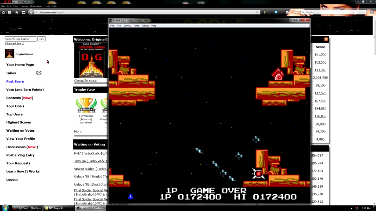 OriginalGamer: Luidius (NES/Famicom Emulated) 172,400 points on 2016-05-02 23:19:01