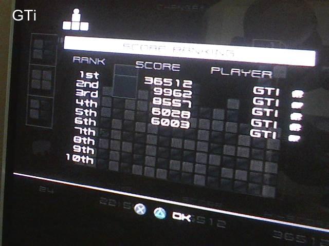 GTibel: Lumines Plus (Playstation 2) 36,512 points on 2017-09-04 09:48:04
