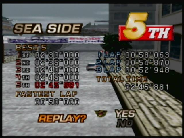 derek: MRC Multi Racing Championship: Time Trial [Sea Side] (N64) 0:02:45.881 points on 2016-04-22 17:23:12