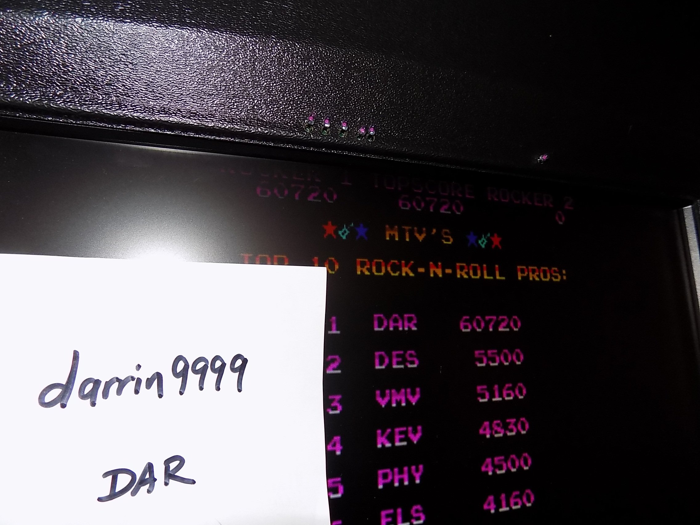 darrin9999: MTV Rock-N-Roll Trivia Part 2 [rocktrv2] (Arcade Emulated / M.A.M.E.) 60,720 points on 2018-09-14 13:19:51